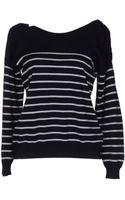 Mm6 By Maison Martin Margiela Long Sleeve Sweater - Lyst