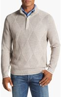 Tommy Bahama Marina Bay Pima Cotton Half Zip Sweater - Lyst