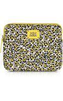 Juicy Couture Leopard Print Neoprene Ipad Zip Around Case - Lyst