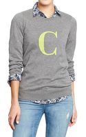 Old Navy Pop Color Crewneck Sweaters - Lyst