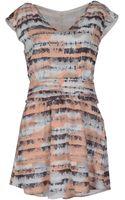By Zoé Short Dress - Lyst