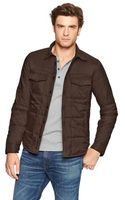Gap Quilted Shirt Jacket - Lyst