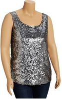 Old Navy Plus Sequined Tanks - Lyst