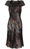 Roberta Guercini Kneelength Dress - Lyst