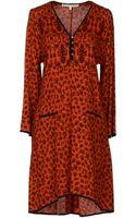 Veronica Beard Short Dress - Lyst
