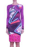 Mary Katrantzou Turkoplus Silk Dress - Lyst