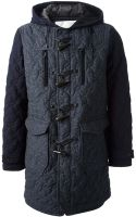 White Mountaineering Quilted Coat - Lyst
