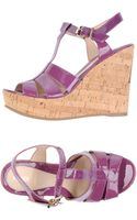 Fendi Wedge - Lyst