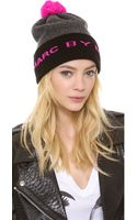 Marc By Marc Jacobs Logo Ski Hat - Lyst