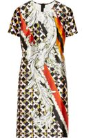 Peter Pilotto Kado Printed Silk Dress - Lyst