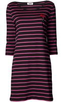 Sonia By Sonia Rykiel Striped Lipstick Dress - Lyst