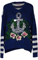 Juicy Couture Long Sleeve Sweater - Lyst