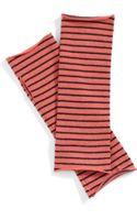 Eileen Fisher Stripe Merino Wool Glovelettes - Lyst