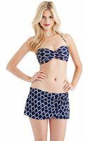 Robin Piccone Java Twist Bandeau Bikini Top - Lyst