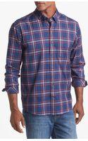Cutter & Buck Dock Plaid Regular Fit Sport Shirt - Lyst