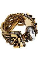 Erickson Beamon Crystal Velocity Braided Bracelet - Lyst
