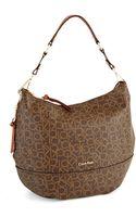 Calvin Klein Hudson Monogram Hobo Bag - Lyst