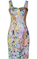 Roccobarocco Short Dress - Lyst