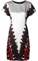 Rodarte Tie Dye Shirt Dress - Lyst
