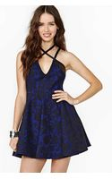 Nasty Gal Midnight Bloom Lace Dress - Lyst
