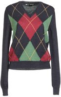 DSquared2 Long Sleeve Sweater - Lyst