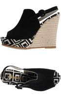 Espadrilles wedges wedge sandals - Lyst