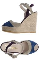 Espadrilles Wedge Sandals - Lyst
