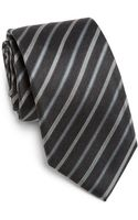 Boss by Hugo Boss Striped Silk Tie - Lyst