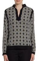 Raoul Printed Tunic - Lyst