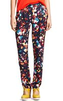 Tommy Hilfiger Floral Print Pant - Lyst