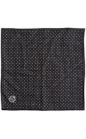 Dolce & Gabbana Polka Dots Silk Pocket Square - Lyst