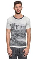 Dolce & Gabbana Temple Printed Cotton Jersey T-Shirt - Lyst