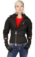 DSquared2 Nylon Short Down Jacket - Lyst