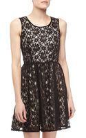 French connection Lizzie Lace Dress - Lyst