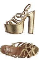 Jeffrey Campbell Platform Sandals - Lyst
