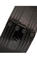 Asos High Shine Stitch Detail Waist Belt - Lyst