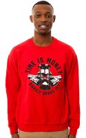 Barely Broke Intellects The Time Is Money Crewneck Sweatshirt - Lyst