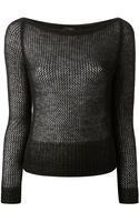 Gucci Knitted Top - Lyst