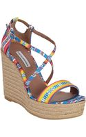Tabitha Simmons Jenny Espadrille Wedge - Lyst