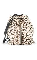 Elizabeth And James Spotted Hair Calf Sling Bag - Lyst
