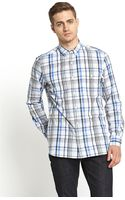 French Connection Mens Check Shirt - Lyst