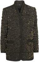 Isabel Marant Embellished Tweed Jacket - Lyst