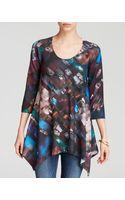 Nally & Millie Brushstroke Print Tunic - Lyst