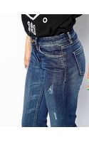 Blank Nyc Mid Rise Flared Jeans - Lyst
