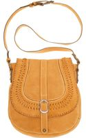 Patricia Nash Barcellona Suede Saddle Bag - Lyst