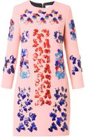 Peter Pilotto Lex Embellished Wool Dress - Lyst