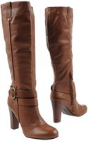 Nine West Knee-High Mid-Heel Boots - Lyst