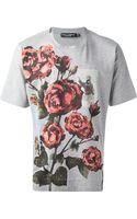 Dolce & Gabbana Rose Tshirt - Lyst