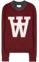 Wood Wood Prospect Wool Sweater - Lyst