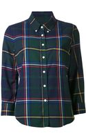 Boy by Band Of Outsiders Plaid Shirt - Lyst